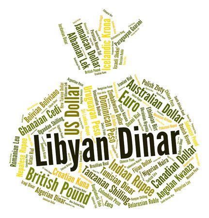 libysch: Libyscher Dinar Wordcloud