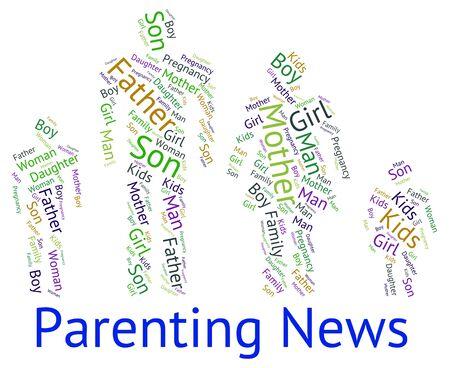 wordcloud: Parenting News wordcloud