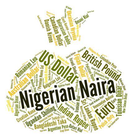 nigerian: Nigerian Naira wordcloud