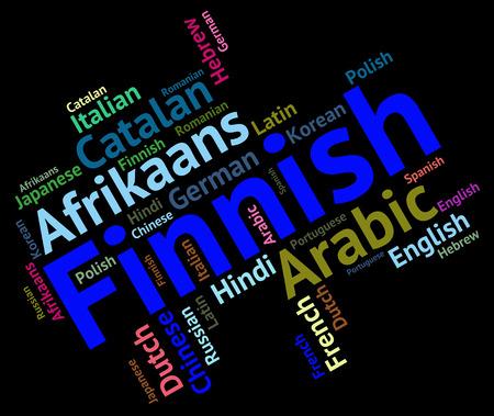 lingo: Finnish Language Meaning Text Translate And Communication