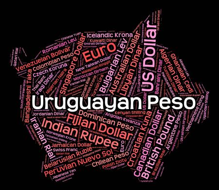 exchange rate: Uruguayan Peso Showing Exchange Rate And Foreign