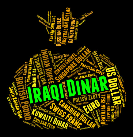 dinar: Iraqi Dinar Meaning Foreign Exchange And Text