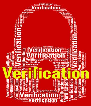 authenticity: Verification Lock Meaning Authenticity Guaranteed And Text
