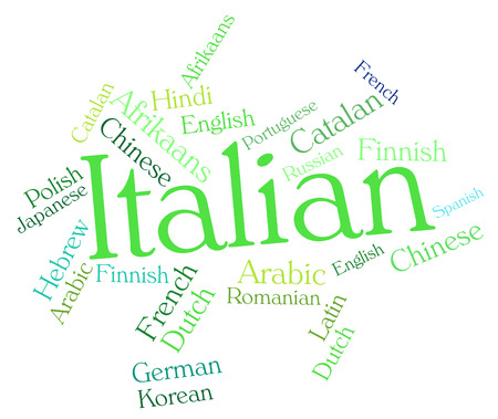 lingo: Italian Language Indicating Text Translator And Speech