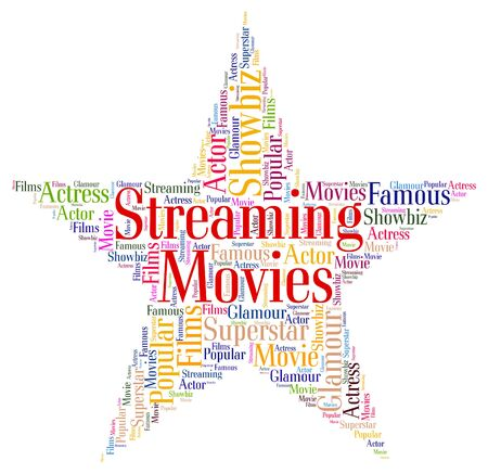 live stream movie: Streaming Movies Indicating Picture Show And Broadcasting