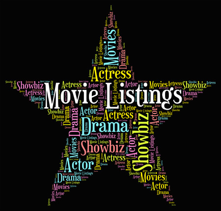 catalogues: Movie Listings Meaning Picture Show And Shows
