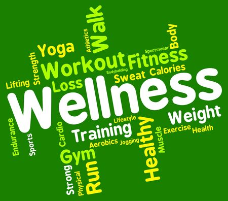 preventive: Wellness Words Showing Preventive Medicine And Health