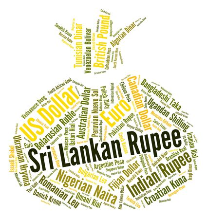 fx: Sri Lankan Rupee Representing Foreign Exchange And Fx