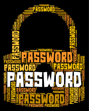 logon: Password Lock Showing Sign In And Online