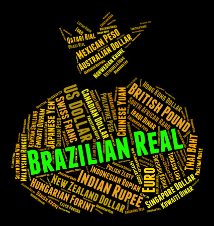 coinage: Brazilian Real Showing Forex Trading And Coinage