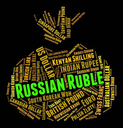 forex trading: Russian Ruble Indicating Forex Trading And Exchange