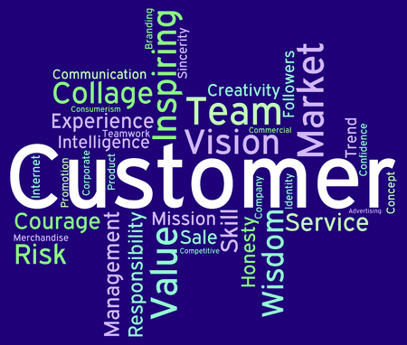 patronage: Customer Words Showing Shoppers Consumers And Consumer