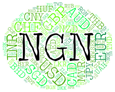 coinage: Ngn Currency Meaning Nigerian Nairas And Coinage
