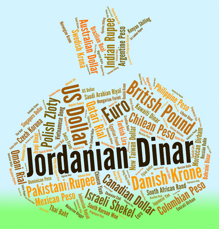 foreign currency: Jordanian Dinar Representing Foreign Currency And Fx