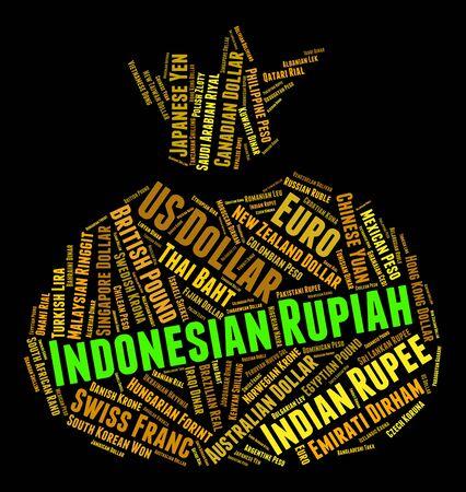agente comercial: Rupia indonesia Representación de Forex Trading Y Broker