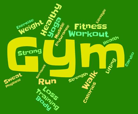 aktywność fizyczna: Wordcloud Centrum Znaczenie aktywności fizycznej i Wyszkolony
