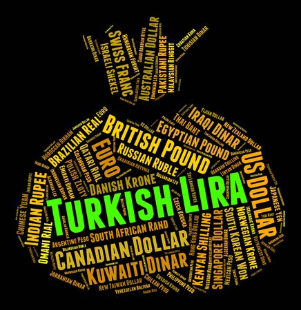 turkish lira: Turkish Lira Showing Forex Trading And Foreign
