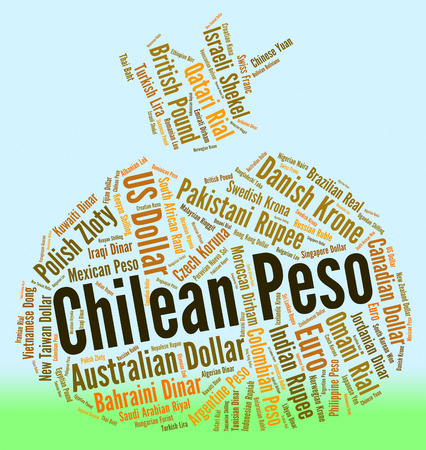 foreign currency: Chilean Peso Showing Foreign Currency And Currencies