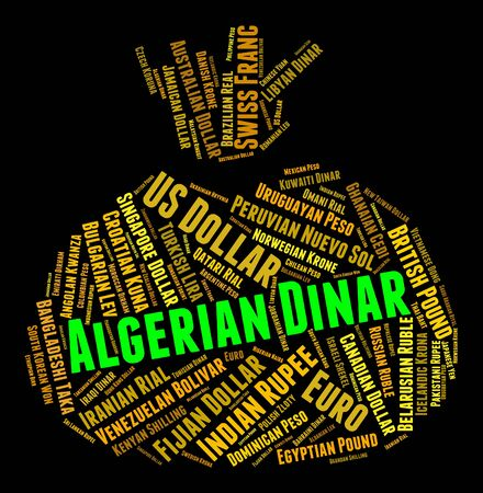 algerian: Algerian Dinar Meaning Currency Exchange And Dinars