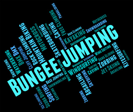 bungee jumping: Bungee Jumping Significado deporte extremo y la palabra
