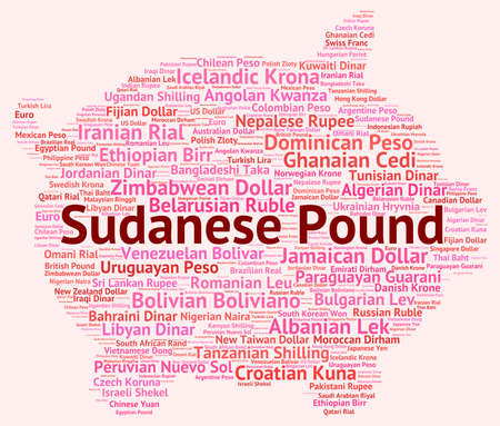 foreign currency: Sudanese Pound Meaning Foreign Currency And Coin