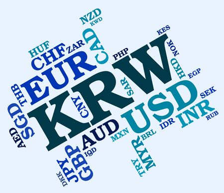 won: Krw Currency Meaning South Korean Wons And South Korean Won