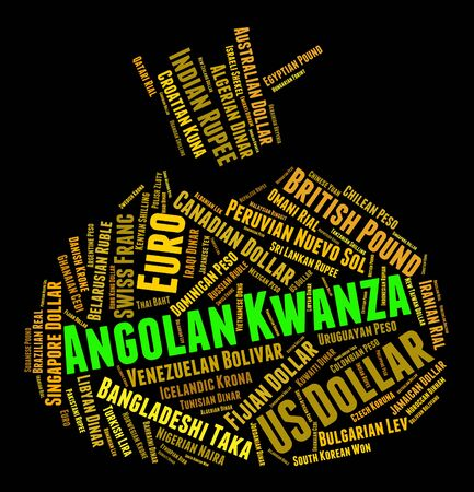 foreign exchange: Angolan Kwanza Representing Foreign Exchange And Coin