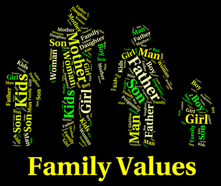 scruples: Family Values Indicating Blood Relative And Families