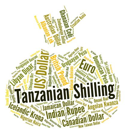 shilling: Tanzanian Shilling Representing Exchange Rate And Forex
