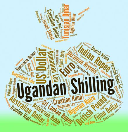 shilling: Ugandan Shilling Representing Foreign Currency And Fx