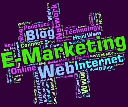 emarketing: Emarketing Word Meaning World Wide Web And Web Site