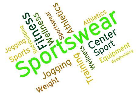 ropa deportiva: Sportswear Palabra Significado Palabras equipo y Shorts
