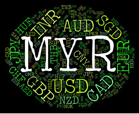 Myr Currency Representing Worldwide Trading And Broker