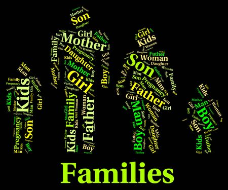 the offspring: Families Word Meaning Blood Relative And Offspring