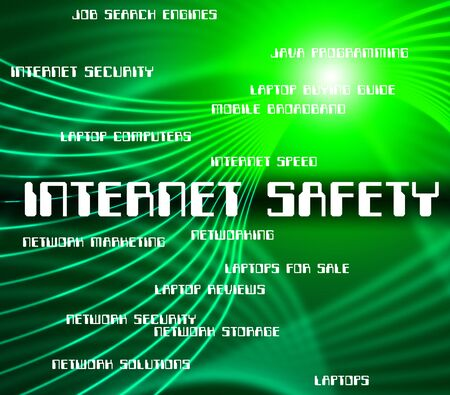 internet safety: Internet Safety Representing World Wide Web And Searching Dangerous