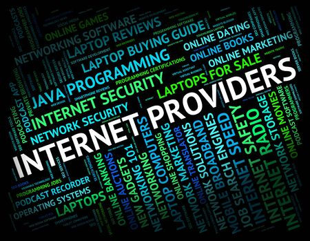 giver: Internet Providers Representing World Wide Web And Website