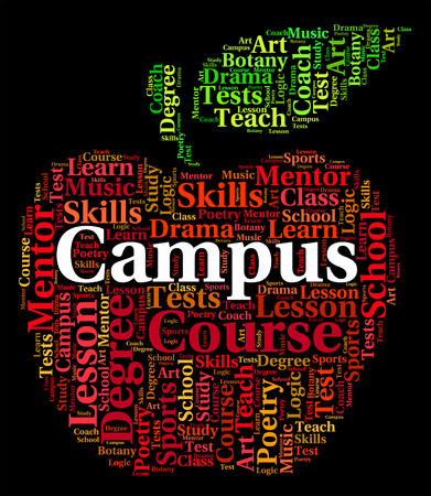 Campus Word Meaning Text Institute And Words