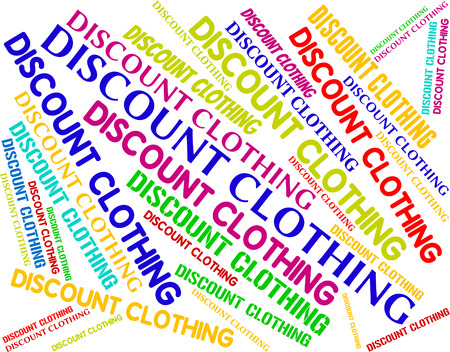 promotional: Discount Clothing Representing Promotional Bargain And Shorts