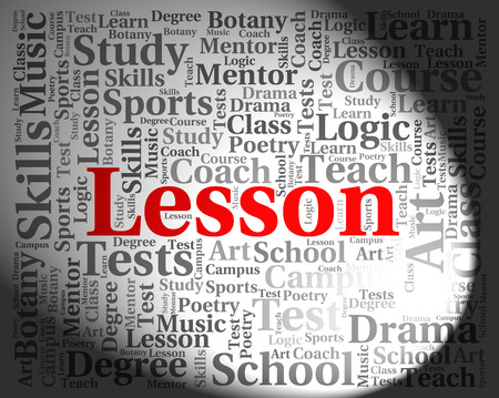 word lesson: Lesson Word Representing Words Sessions And Classes