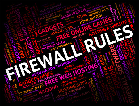 no access: Firewall Rules Showing No Access And Regulations
