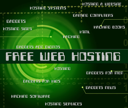 complimentary: Free Web Hosting Representing With Our Compliments And Complimentary Stock Photo