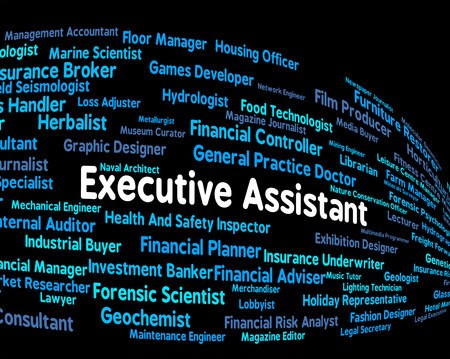 executive assistant: Executive Assistant Showing Director General And Jobs