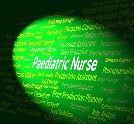 matron: Paediatric Nurse Representing Nurses Doctors And Youths