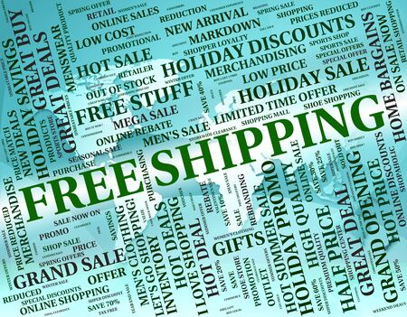 free shipping: Free Shipping Showing With Our Compliments And Delivery