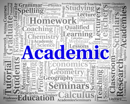 Academic Word Showing Naval Academy And Institute