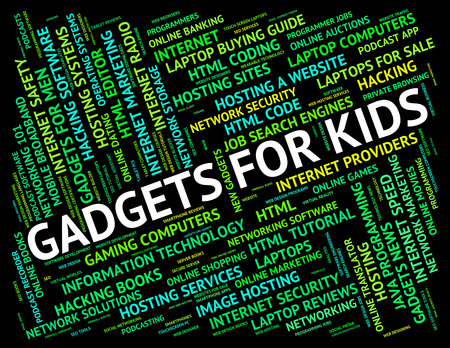 mod: Gadgets For Kids Showing Mod Con And Children