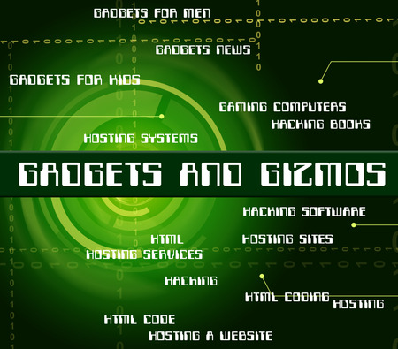con: Gadgets And Gizmos Indicating Mod Con And Things
