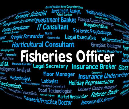fischerei: Fischereibeh�rde Zeige Angeln Einstellung und Jobs