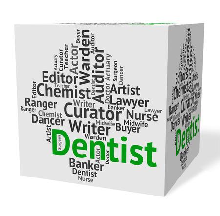 dental surgeon: Dentist Job Meaning Dental Surgeon And Words