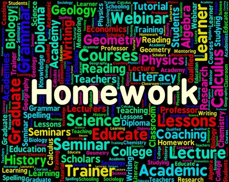 assignments: Homework Word Meaning Assignments Educate And Words
